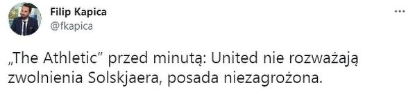 Solskjaer ma wciąż poparcie w Manchesterze United