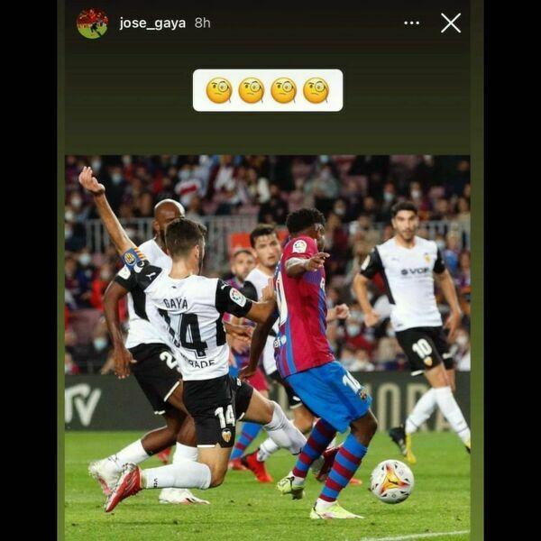José Gayà uważa, że sędzia popełnił błąd dyktując rzut karny dla Barcelony