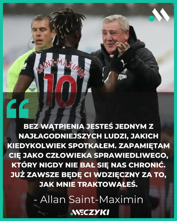 Ładne pożegnanie trenera Newcastle