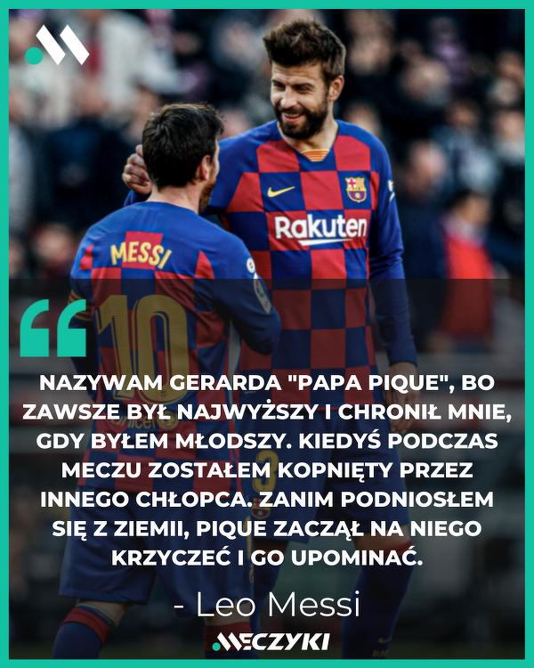 Leo Messi o Gerardzie Pique
