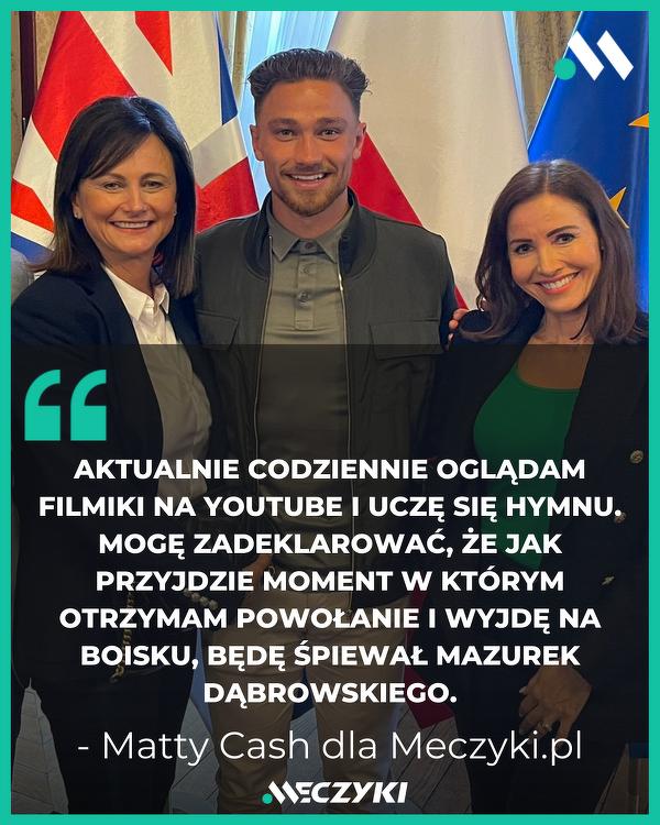 Matty Cash o nauce języka polskiego
