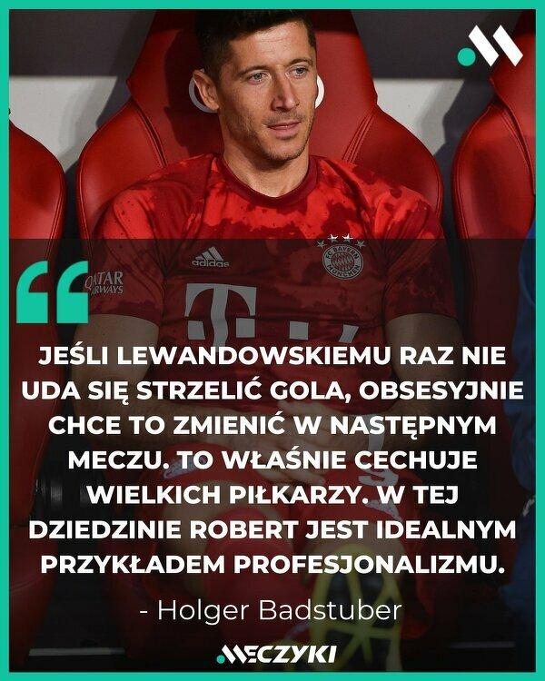 Perfekcjonista Lewandowski