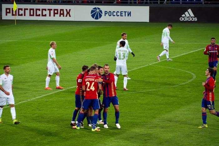 Porażka CSKA Moskwa na własnym boisku
