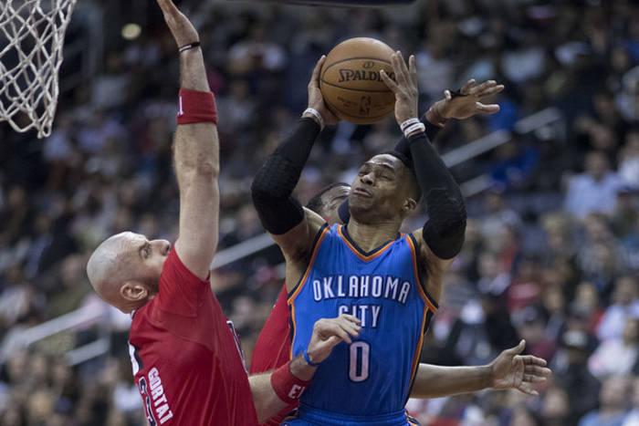 39. triple-double Westbrooka to za mało na Spurs