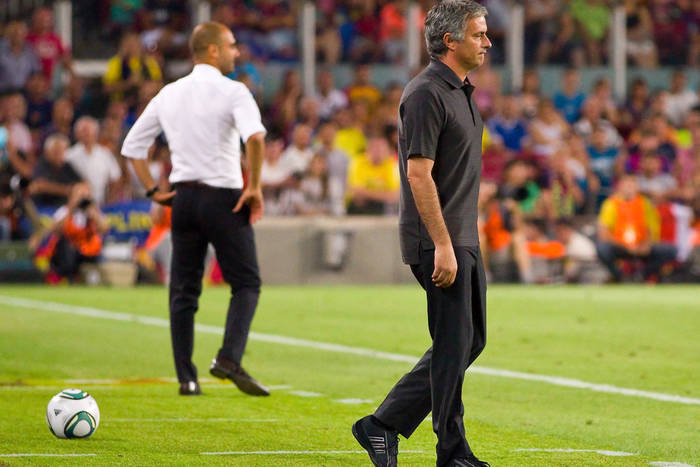 """Arbiter zdradził, co powiedział Jose Mourinho po klęsce z FC Barceloną 0:5. """"Myliłeś się co do jednej rzeczy"""""""