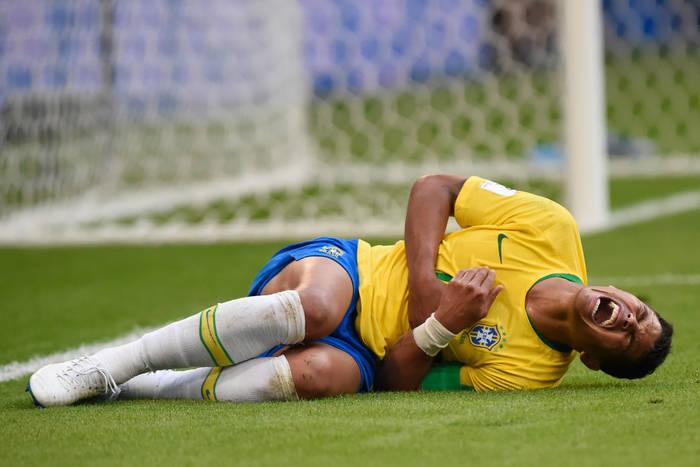 Kontuzja pachwiny Neymara. Nie zagra w kluczowym meczu PSG w Lidze Mistrzów?