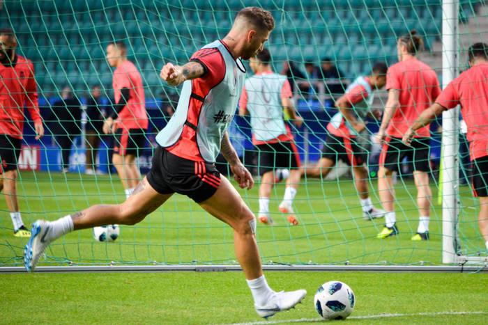 Ramosowi puściły nerwy na treningu. Zachowanie niegodne kapitana [WIDEO]
