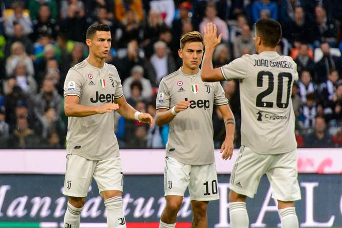 Cristiano Ronaldo Paulo Dybala Joao Cancelo