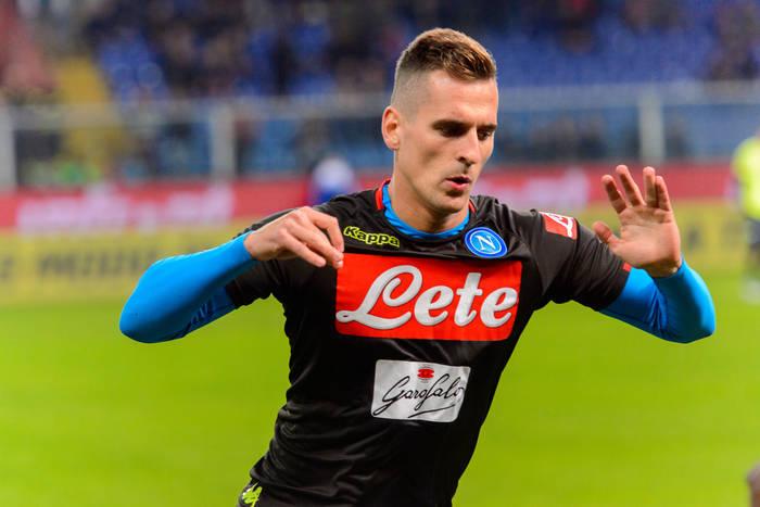 Składy na mecz Napoli - Udinese. Grają Polacy