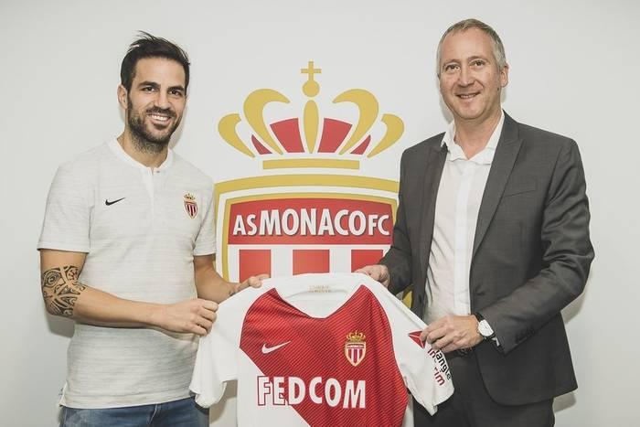 Fabregas ma nowy klub. Zagra dla Henry'ego
