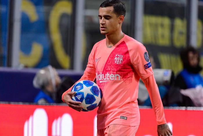 FC Barcelona gotowa sprzedać Philippe Coutinho. PSG chce skorzystać z okazji