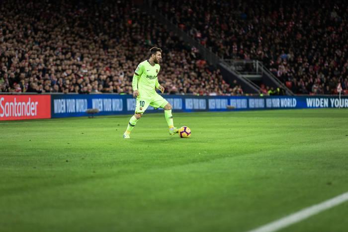 Pewne zwycięstwo i awans Barcelony! Dwa gole i dwie asysty Messiego [WIDEO]