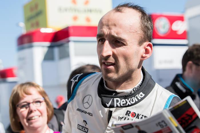 Robert Kubica Williams F1
