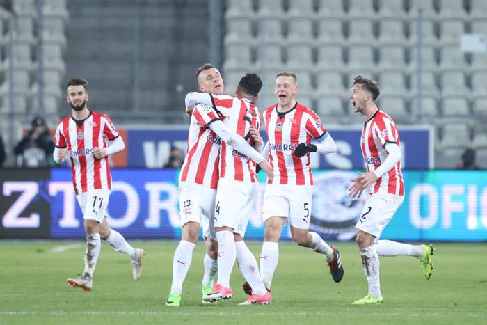 Cracovia wygrała na własnym boisku z Zagłębiem Lubin