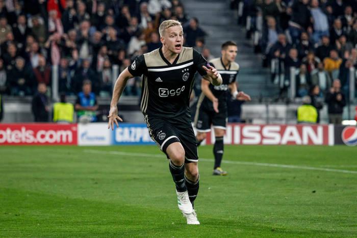 Składy na mecz Ajax Amsterdam - PAOK Saloniki. Donny van de Beek zagra od pierwszej minuty