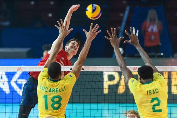 Brazylia - USA siatkówka