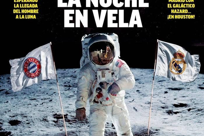 """Galaktyczna zapowiedź debiutu Hazarda w Realu Madryt. """"Marca"""" porównała to do lądowania na Księżycu [ZDJĘCIE]"""