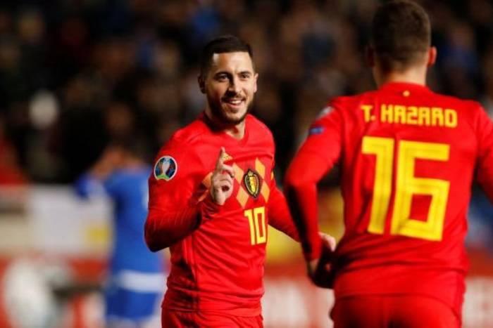 Bracia Hazard w reprezentacji Belgii