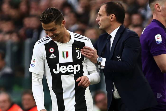 Cristiano Ronaldo, Massimiliano Allegri