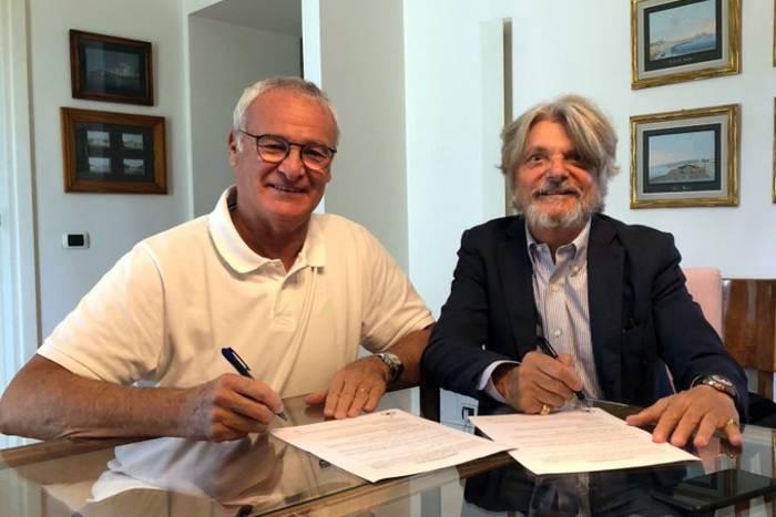 Claudio Ranieri został nowym trenerem Sampdorii