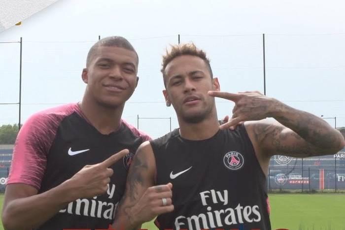Kylian Mbappe Neymar