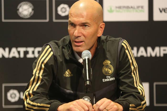 Zinedine Zidane ogłosił powołania na wyjazdowy mecz Realu Madryt z Valencią