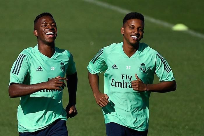 Rodrygo Goes Vinicius Junior