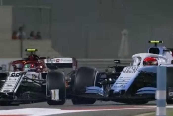 Lewis Hamilton wygrał Grand Prix Abu Zabi. Robert Kubica ostatni, wcześniej starł się z Giovinazzim [WIDEO]