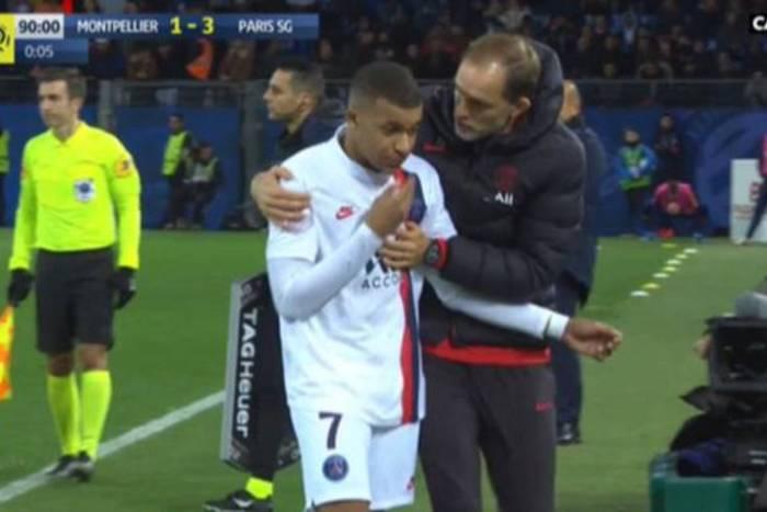 Konflikt Kyliana Mbappe i Thomasa Tuchela przybiera na sile. Francuz kompletnie zignorował trenera PSG [WIDEO]