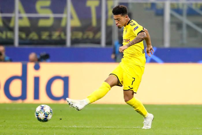 Manchester City zarobi na transferze Jadona Sancho. Ujawniono klauzulę w umowie z Borussią Dortmund