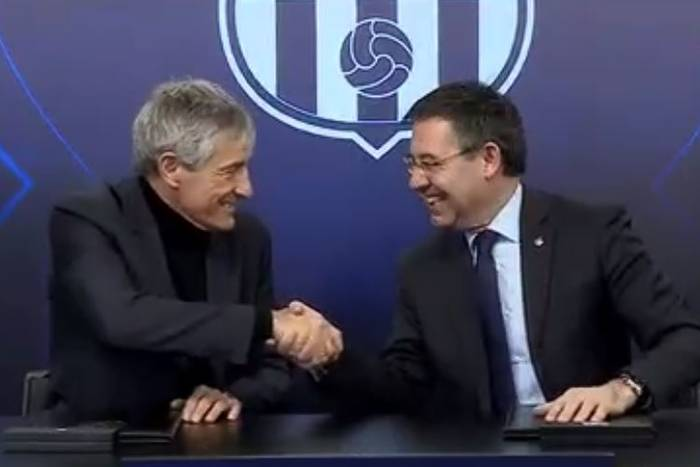 Era Quique Setiena rozpoczęta! FC Barcelona już oficjalnie ma nowego trenera