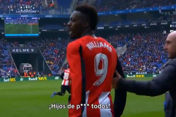 Skandal rasistowski w Barcelonie podczas meczu Espanyolu. Kibice na trybunach naśladowali małpę [WIDEO]