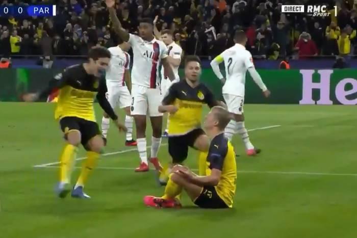 Erling Braut Haaland znów zadziwia! Jego dwie bramki dały Borussii Dortmund zwycięstwo z PSG [WIDEO]