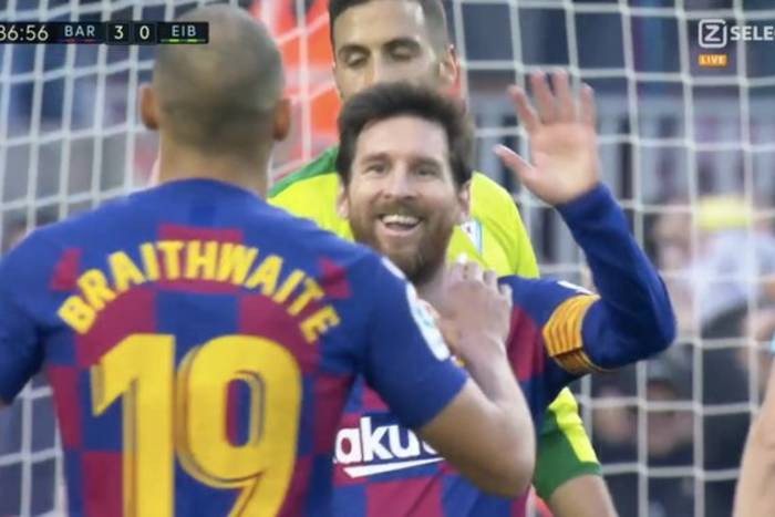 Martin Braithwaite Lionel Messi