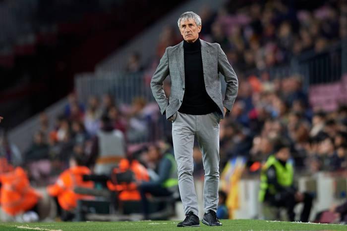 """Quique Setien zadowolony z formy Barcelony. """"Chcemy wygrać Ligę Mistrzów"""""""