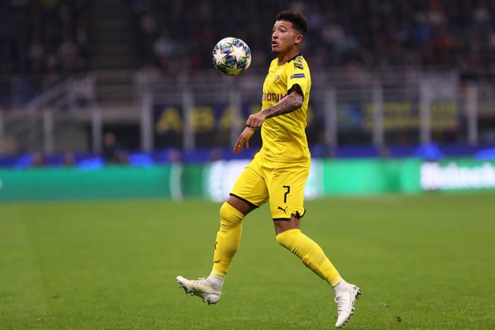 Media: Bayern Monachium myśli o transferze Jadona Sancho. Anglik jest opcją rezerwową