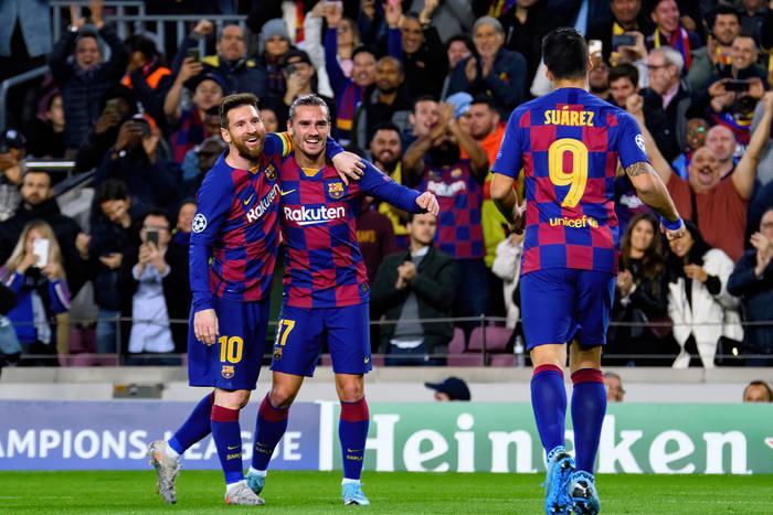 Messi, Griezmann, Suarez