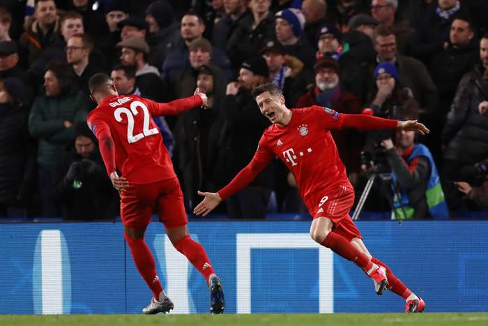 Składy na mecz Bayern Monachium - Chelsea FC. Robert Lewandowski i spółka chcą przypieczętować awans