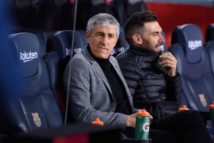 """Quique Setien odniósł się do plotek o zwolnieniu z FC Barcelony. """"W ogóle nie czuję się zagrożony"""""""