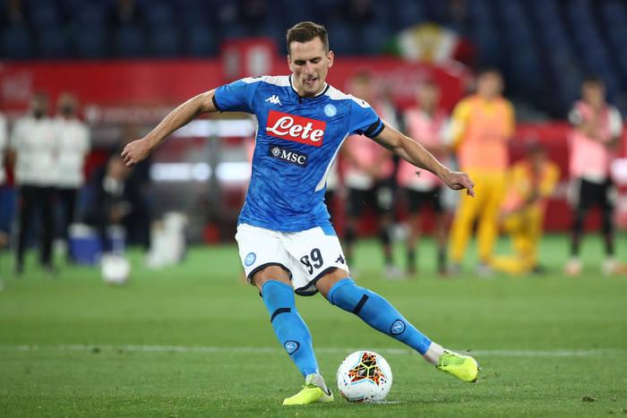 Jasne stanowisko Napoli w sprawie transferu Arkadiusza Milika. Właściciel klubu postawił jeden warunek