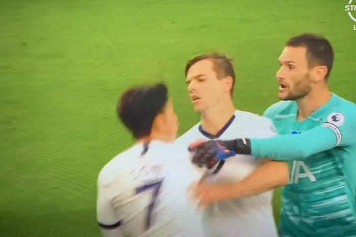 Ostre spięcie między zawodnikami Tottenhamu. Lloris w drodze do szatni ruszył na Sona [WIDEO]