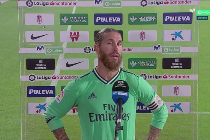 """Sergio Ramos zabrał głos po meczu z Granadą. """"To był nasz błąd"""""""