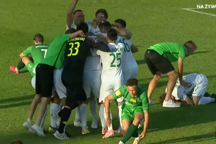 """Trener Warty Poznań skomentował awans do Ekstraklasy. """"Zrobiliśmy niespotykaną rzecz, to ogromne wydarzenie"""""""