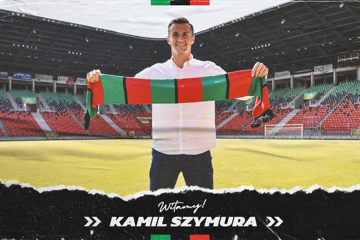 GKS Tychy ma nowego obrońcę. Kamil Szymura podpisał dwuletni kontrakt
