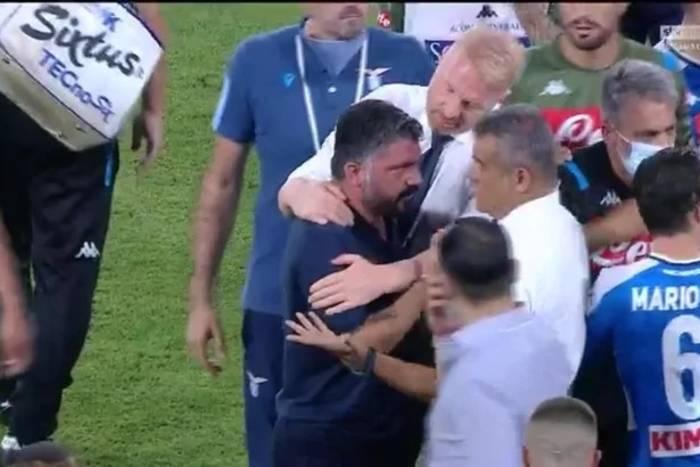 """Gennaro Gattuso nie wytrzymał. Te słowa go rozsierdziły. """"Chodź, powiedz mi to prosto w twarz"""" [WIDEO]"""