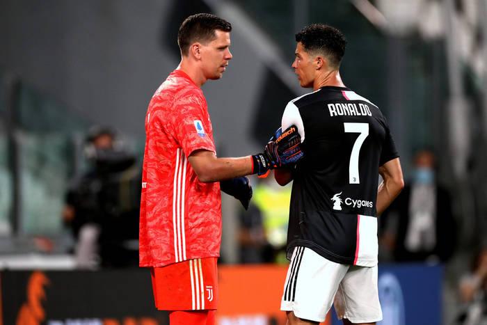 """Wojciech Szczęsny wybrał najlepszego piłkarza, z którym grał. """"Takich dziesięciu i nie potrzebuję Ronaldo"""""""