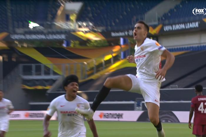 Sevilla wygrała z AS Romą i zagra w ćwierćfinale Ligi Europy! Kapitalny rajd Reguilona [WIDEO]
