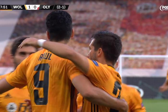 """Wolverhampton w ćwierćfinale Ligi Europy! """"Wilki"""" uporały się z Olympiakosem"""