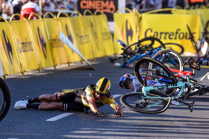 """Sprawca wypadku na Tour de Pologne. """"Nie chcę nawet dotykać roweru"""""""