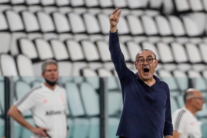 """Zaskakujące słowa Maurizio Sarriego. """"Spodziewałem się mniej po Juventusie. Jestem bardzo zadowolony"""""""